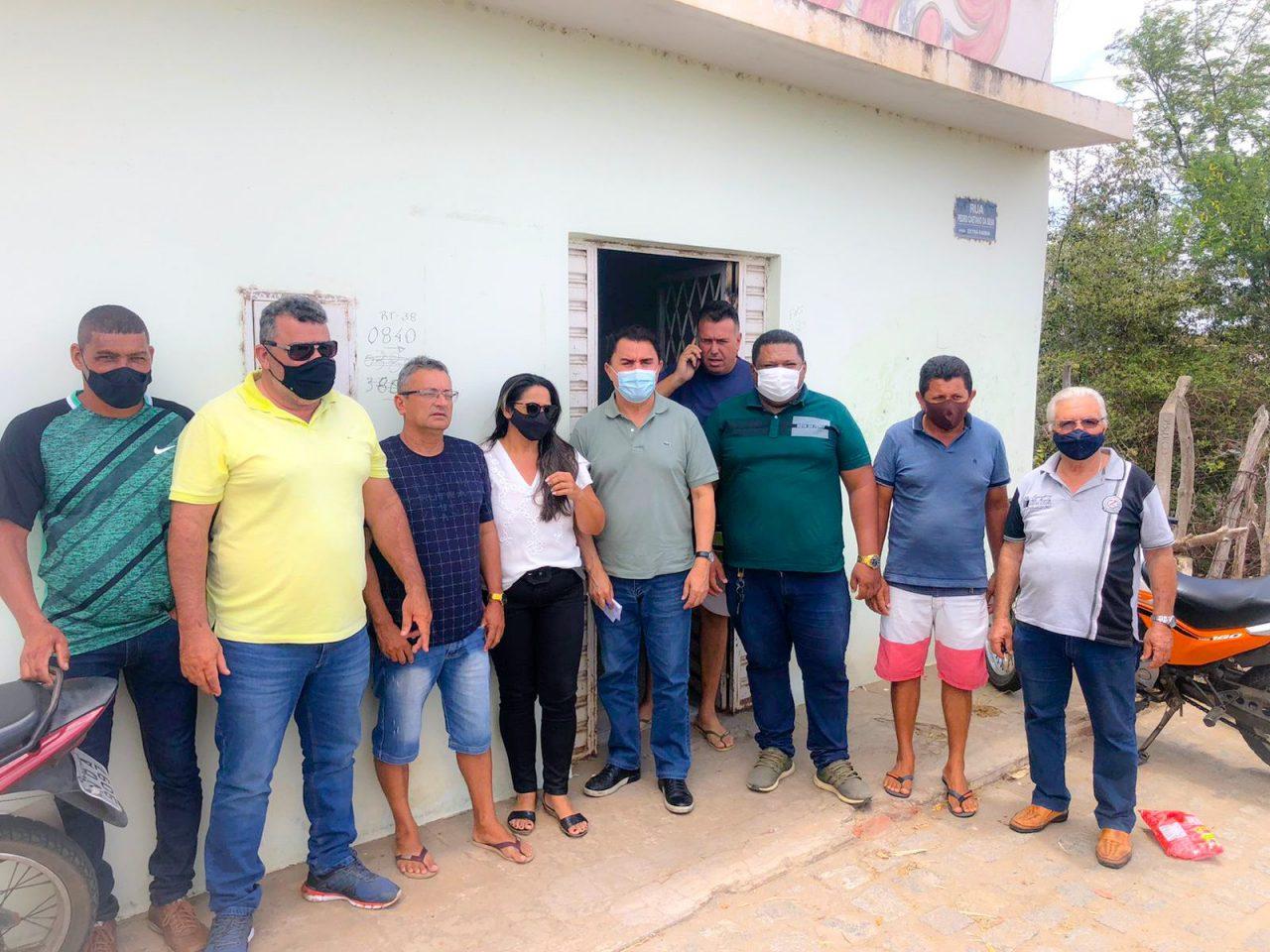 WhatsApp Image 2021 10 03 at 15.12.55 scaled - Wilson Santiago é recebido por Edilson Do Tomate em Boqueirão e destaca R$ 5 milhões em investimentos no município