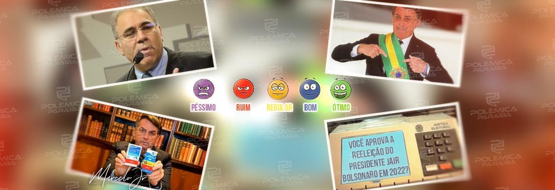 WhatsApp Image 2021 10 08 at 10.44.28 - JULGANDO A GESTÃO: Em meio a polêmicas na condução da pandemia, como você avalia o mandato do presidente Jair Bolsonaro? - VOTE