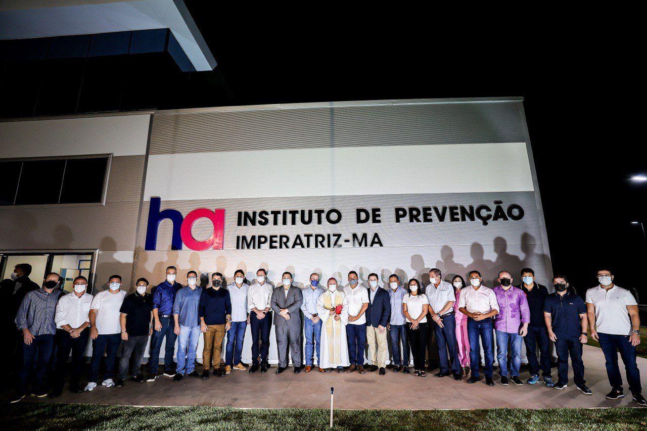 WhatsApp Image 2021 10 08 at 23.25.43 - Presidente do Senado em exercício, Veneziano cumpre agenda no Maranhão e participa de inauguração do Hospital do Amor