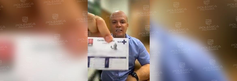 """WhatsApp Image 2021 10 13 at 10.31.05 - CORONAVAC: Cabo Gilberto anuncia que foi vacinado contra a Covid-19: """"Para que a Assembleia não fique fechada"""""""