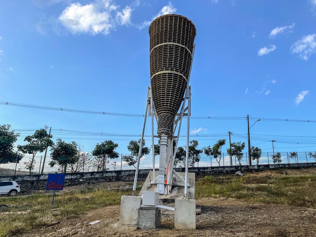 WhatsApp Image 2021 10 14 at 16.32.02 - Radiotelescópio 'Bingo' funcionará no município de Aguiar, e centro operacional será em Cajazeiras, no sertão da PB; Entenda