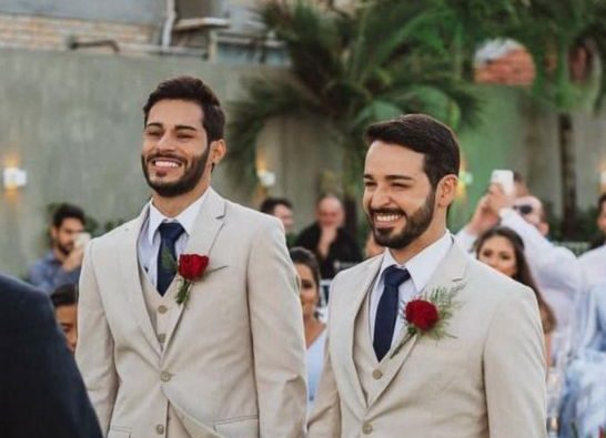 """WhatsApp Image 2021 10 14 at 18.00.38 e1634245642370 - CELEBRANDO O AMOR! Médicos paraibanos se casam em João Pessoa: """"Amar também é uma forma de resistência"""""""
