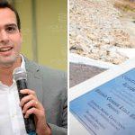 """WhatsApp Image 2021 10 19 at 12.17.56 150x150 - Nome de Lucas Ribeiro não aparece em placa de inauguração de obra em CG; vice-prefeito, no entanto, minimiza """"erro técnico"""": """"Estou tranquilo"""""""