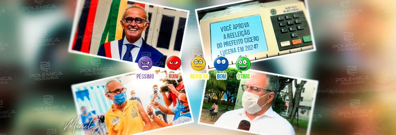 WhatsApp Image 2021 10 20 at 12.07.00 - AVALIE A GESTÃO: Marcado pela eficiência na vacinação e parceria com o governador, como você classifica o mandato de Cícero Lucena em João Pessoa? - VOTE