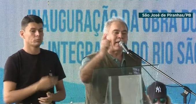 """WhatsApp Image 2021 10 21 at 10.55.52 - Em evento na Paraíba, Queiroga ataca governadores do Nordeste: """"Quantas vacinas eles trouxeram?"""""""