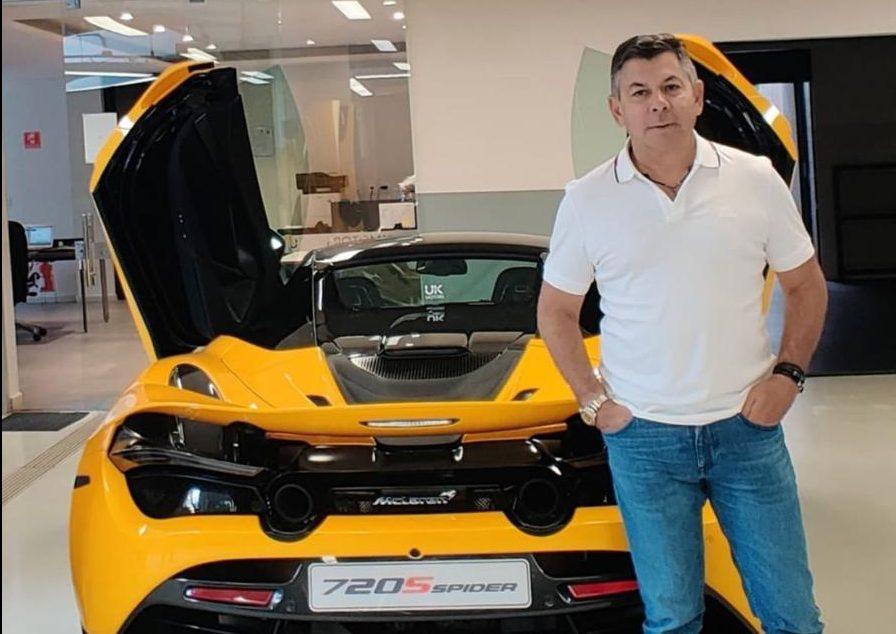 WhatsApp Image 2021 10 22 at 17.40.16 e1634949932125 - Dono do conversível de 4 milhões: João Leuson, empresário da cidade de Patos posa ao lado do McLaren 720S; veja imagens