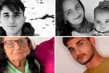 TRAGÉDIA: morrem em grave acidente na Paraíba mãe e sobrinhos do prefeito de Belém do Brejo do Cruz