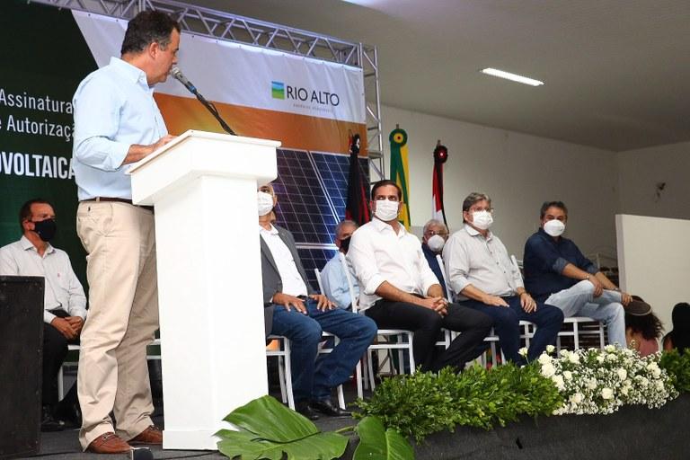 a1b5cd1a 9434 4601 b2f3 b54d50e8dfcd - João Azevêdo participa de assinatura de instalação em Santa Luzia do maior parque eólico da América Latina