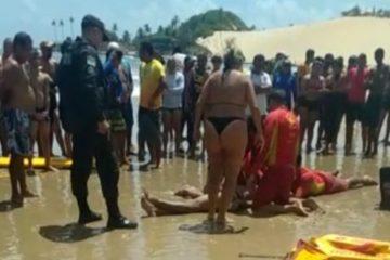 TRAGÉDIA: jovem paraibano morre afogado em praia do Rio Grande do Norte