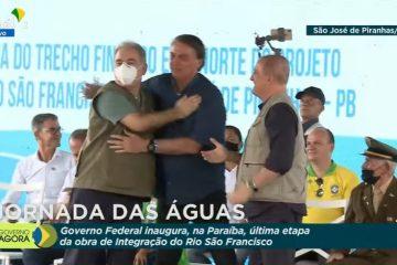 ASSISTA AO VIVO: Bolsonaro cumpre agenda na Paraíba e entrega trecho da Transposição do Rio São Francisco