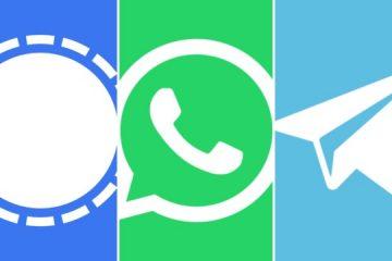apps 640x360 1 360x240 - WhatsApp, Telegram e Signal: conheça 'alternativas' e saiba as vantagens de cada aplicativo