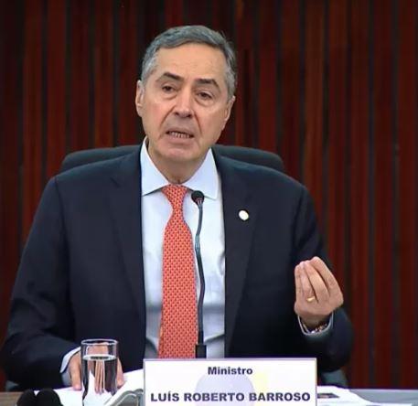 barrr - Barroso exalta Congresso, STF e TSE e garante eleições livres em 2022