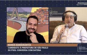 """boulos e datena entrevista radio 394594 36 300x190 - Datena demonstra insatisfação com PSL e diz que votaria em Boulos para Governo de SP: """"Haddad nunca"""""""