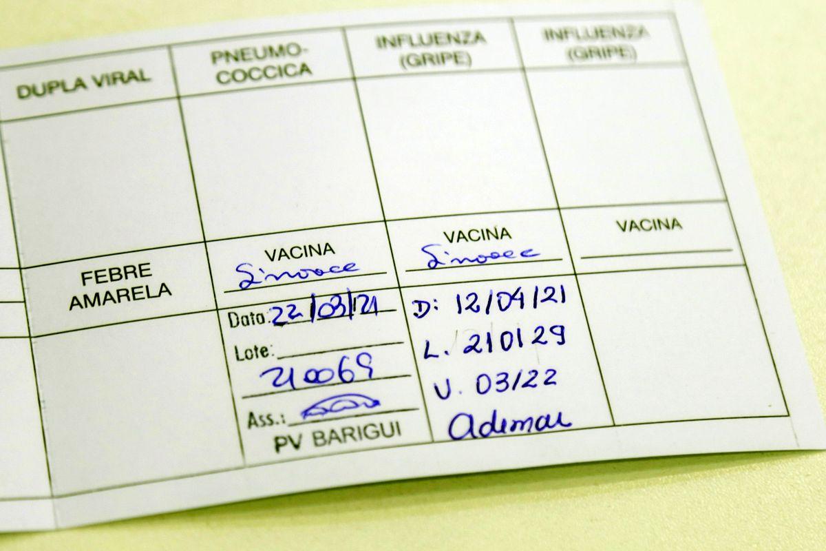 carteira de vacinacao Pedro Ribas SMCS - Com 20 votos a favor, ALPB aprova lei que exigirá o passaporte da vacina para a entrada em espaços públicos e privados da Paraíba