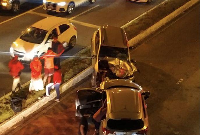 csm acidente morte idosa br 1a8b6a84f7 - Idosa morre e quatro pessoas ficam feridas em colisão na BR-230, em JP