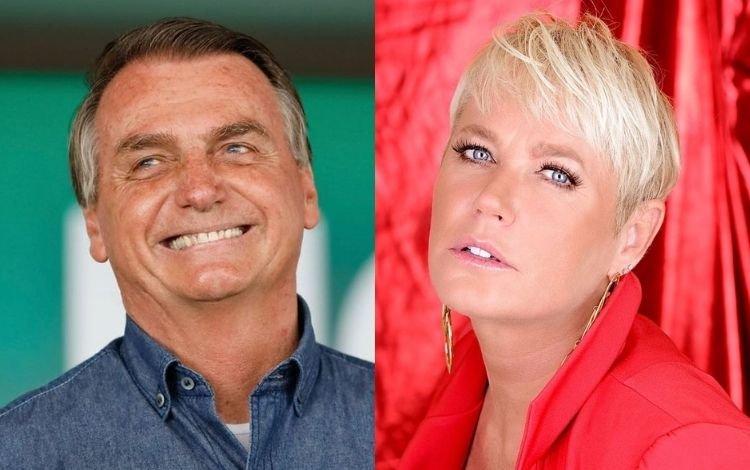 design sem nome 2021 10 12t143250.582 - Bolsonaro rebate declaração de Xuxa: 'Se você a apoia, peço que nos siga'