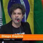 diego espino 150x150 - Durante discurso homofóbico na Câmara, vereador do PSL se revolta perde o fôlego e desmaia - VEJA VÍDEO