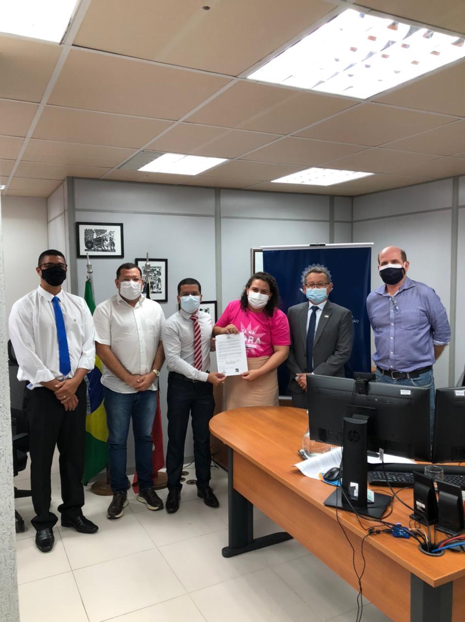 eb8aee4f cf1f 4f8b 8fa7 2f2a05f6a3d0 - Prefeita Luciene se reúne com superintendente da CGU e adere ao programa de transparência pública Time Brasil