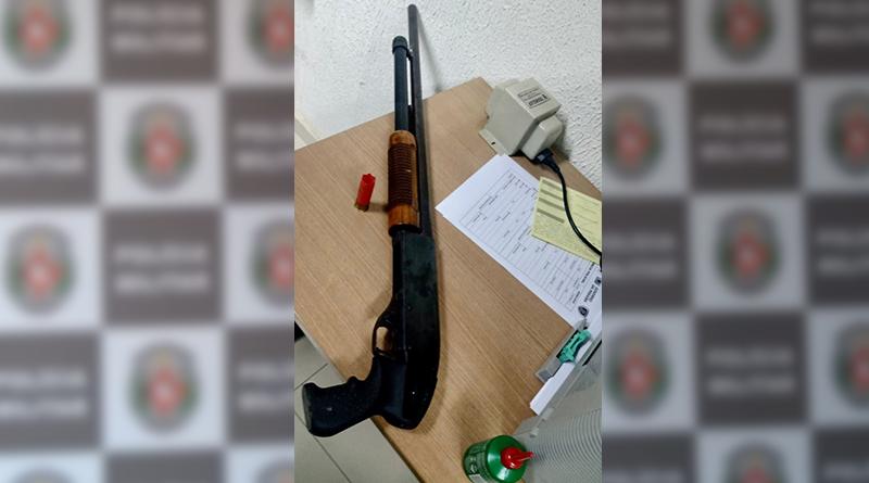 espingarda 12 - PM mata suspeito em confronto e apreende espingarda calibre 12 em João Pessoa