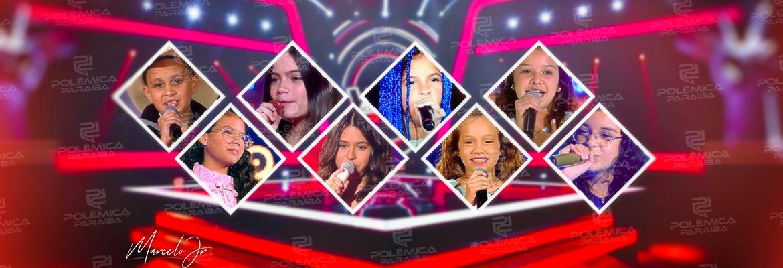 fba7bf56 d498 4016 8111 8a7cf1923216 - ESTRELAS PARAIBANAS: conheça as crianças que já passaram pelo palco do The Voice Kids