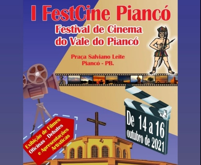 fest - I FESTCINE PIANCÓ: festival de cinema acontece entre os dias 14 e 16 de outubro - CONFIRA PROGRAMAÇÃO