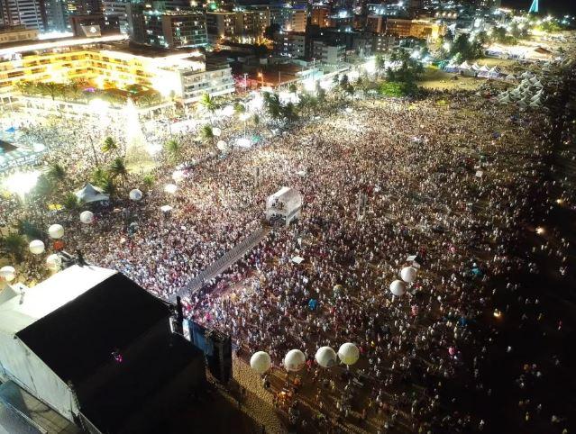 festa - Réveillon na praia de João Pessoa pode ter pelo menos três pontos de shows, diz secretário