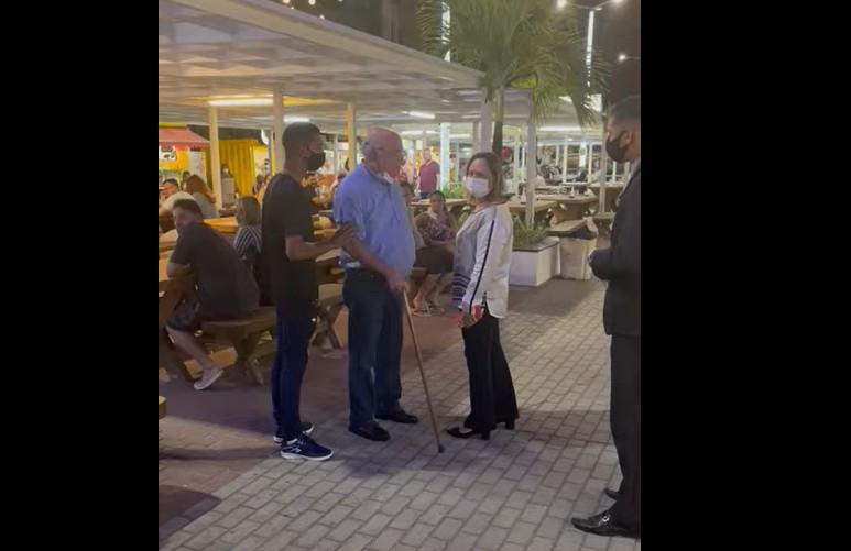 imagem 2021 10 22 185758 - 'Não é lugar de vender maconha': Empresário é acusado de agredir e humilhar criança que vendia doces no Parque Cabo Branco - VEJA VÍDEO