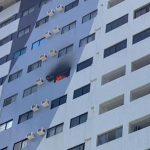 incendio predio 150x150 - ASSUSTADOR: Incêndio atinge apartamento na zona sul e causa destruição - VEJA VÍDEO