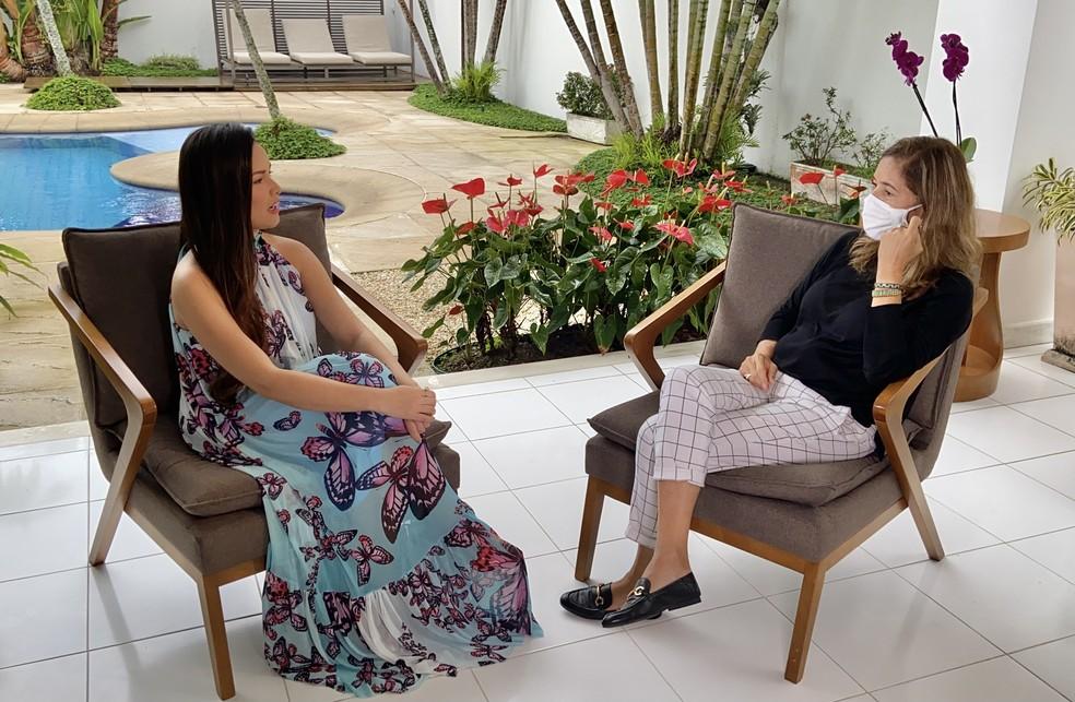 lilia telles entrevista juliette para o globo reporter - Juliette reflete sobre a fama: 'Imaginava um conto de fadas, como eu era iludida'