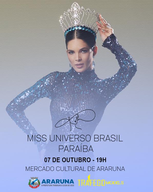 miss universo paraiba acontece nesta quinta feira1633573874 - Miss Universo Paraíba acontece nesta quinta-feira (07) no Brejo paraibano