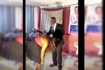 """POLÊMICO! Pastor depila mulheres no culto para atrair """"espírito santo"""" – VEJA VÍDEO"""