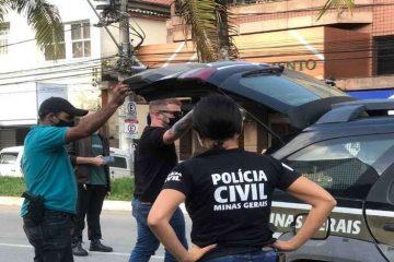policiais civis perto da viatura 0 360x240 - Homem estupra e engravida irmã da namorada que tem microcefalia é preso pela polícia