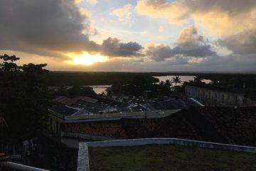 por do sol no rio sanhaua 360x240 - Bayeux pedindo restauração da Ponte Sanhauá?!... De novo?!... - Por Mário Tourinho
