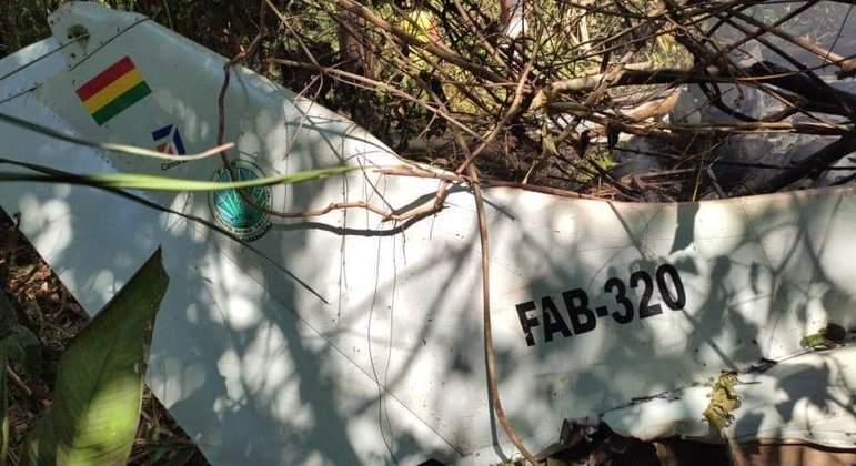 queda aviao bolivia 09102021171240433 - Queda de avião da Força Aérea da Bolívia provoca morte de 6 pessoas