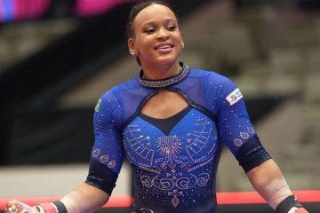 rebeca andrade 00678728 0  360x240 - Rebeca Andrade sofre queda e fecha Mundial de ginástica em 6º lugar na trave