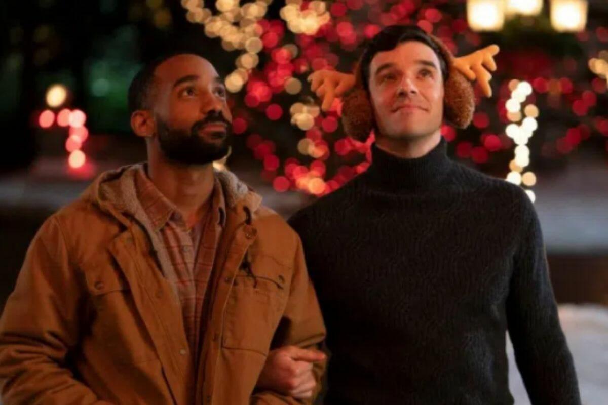 single all the way - Netflix anuncia seu primeiro filme de Natal com protagonistas gays