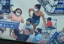 HERÓI! Soldado da PM salva bebê vítima de engasgo em supermercado de João Pessoa – VEJA VIDEO