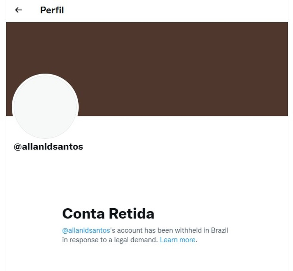 twitter allan dos santos - Por ordem do ministro Alexandre de Moraes, Twitter bloqueia duas contas do blogueiro bolsonarista Allan dos Santos