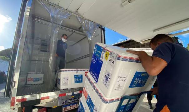vacc 1 - Paraíba distribui mais de 55 mil doses de vacina contra Covid-19 neste domingo (3)