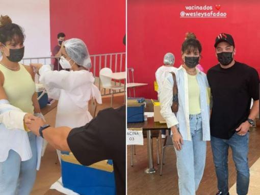 """vcc - """"Ilegal, imoral e criminosa"""", diz MP sobre vacinação de Safadão e Thyane Dantas"""