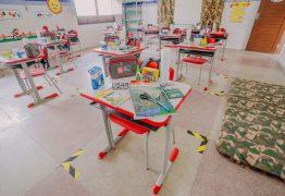 Parte do ensino fundamental retomam atividades presenciais, em João Pessoa