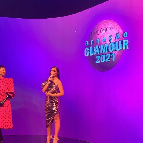 whatsapp image 2021 10 06 at 23.09.53 - Juliette recebe o prêmio de Mulher do Ano no Geração Glamour 2021 - VEJA VÍDEO